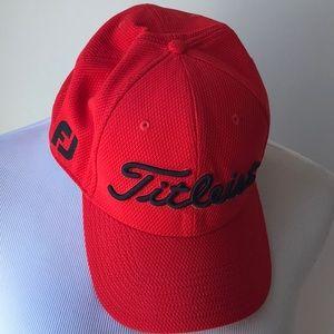 Titleist Red Golf Hat